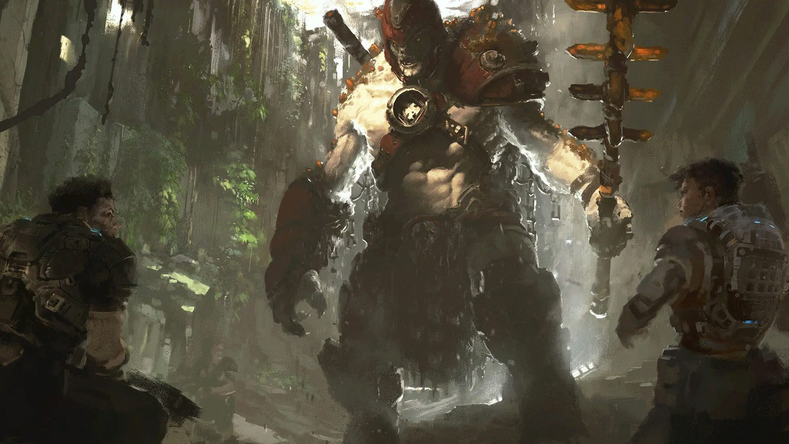 The Art Of Gears Of War 5