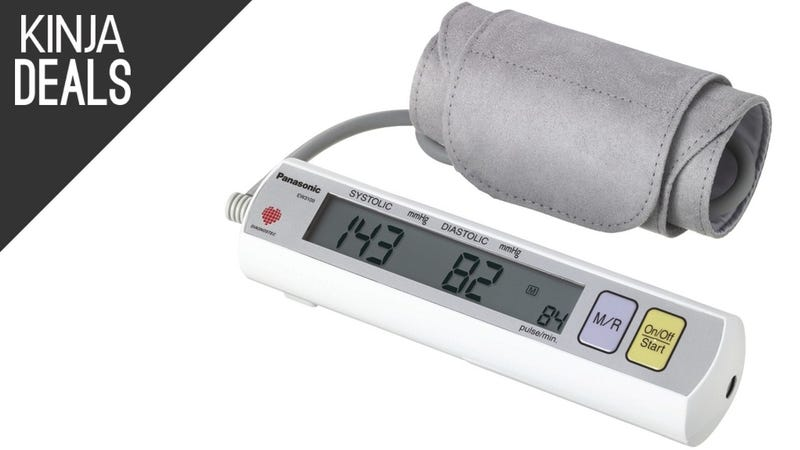 Illustration for article titled Keep Tabs on Your Blood Pressure With This Discounted Monitor
