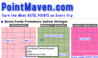 Illustration for article titled Maximize your hotel points with PointMaven