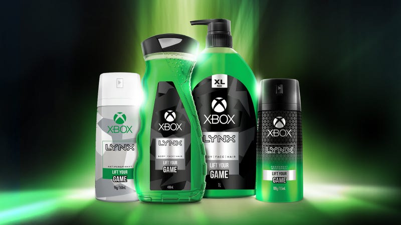 Illustration for article titled Xbox Apparently Thinks Gamers Want Neon Green Body Wash