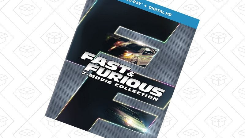 Illustration for article titled Today's best deals: Fast And Furious collection, Dropbox Pro, and more