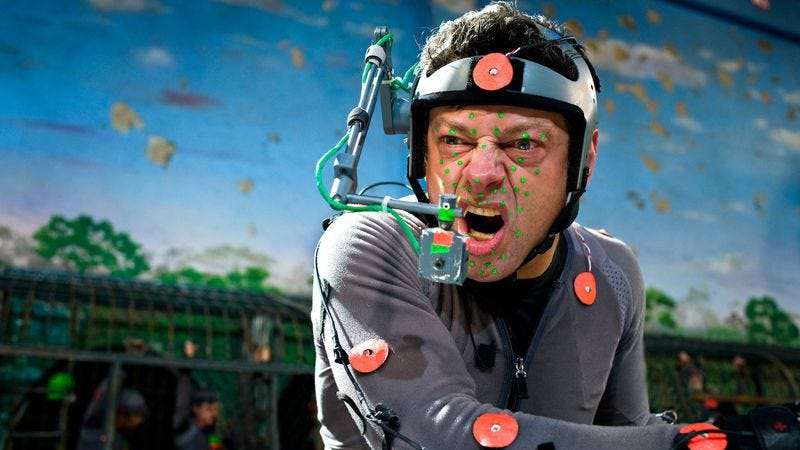 Andy Serkis. Your suit will not be this nice.