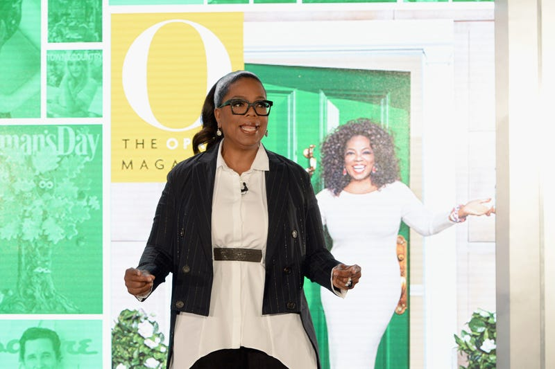 Oprah speaks onstage in New York City on Oct. 25, 2016.  Ben Gabbe/Getty Images for Hearst