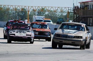Illustration for article titled The Yeehaw It's Texas 24 Hours Of LeMons Uber Gallery, Part I