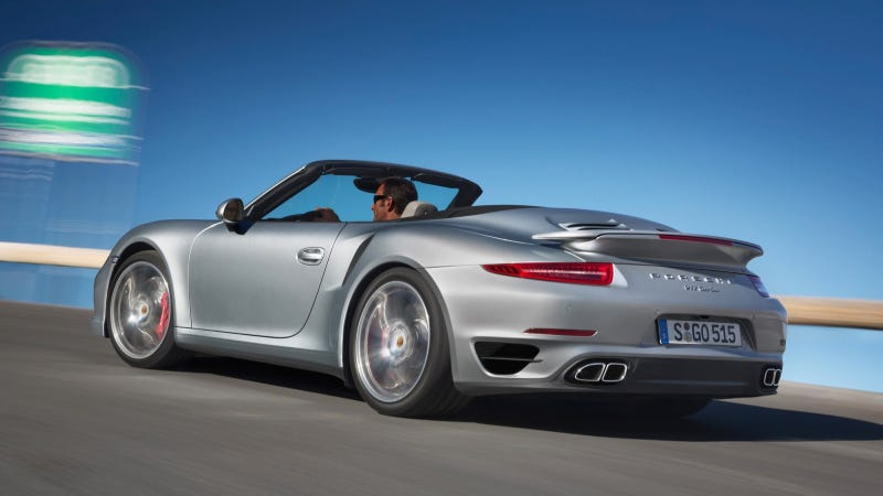 Illustration for article titled Porsche Lifts The Lid On New 911 Turbo Cabriolet Models