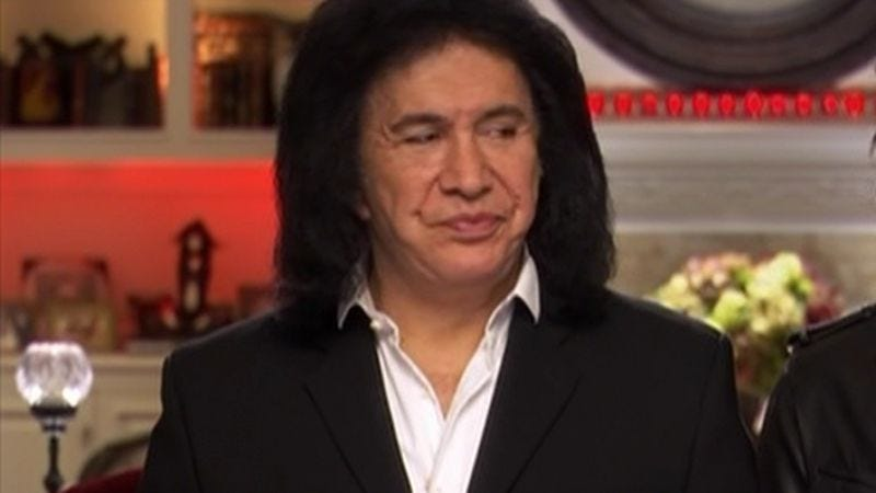 Illustration for article titled Gene Simmons has written a how-to book for becoming rich and unpleasant