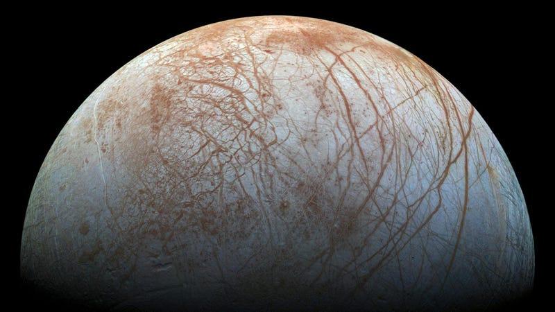 Europa. (Image: NASA)