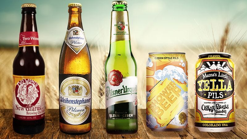 Pilsner, often derided as fizzy yellow beer, is the gold standard of lagers