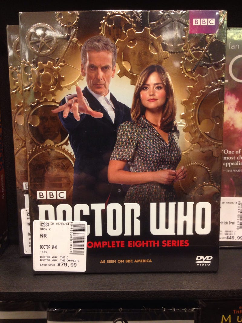 Illustration for article titled Nerdragin': B&N expects $80 for Doctor Who series 8