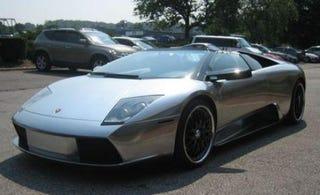 Illustration for article titled 50-Cent's Chrome Lamborghini Murcielago for Sale on eBay