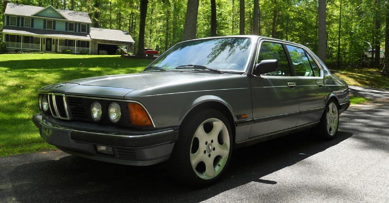 Illustration for article titled $3,750, This BMW Is Kind Of A  Grey Area