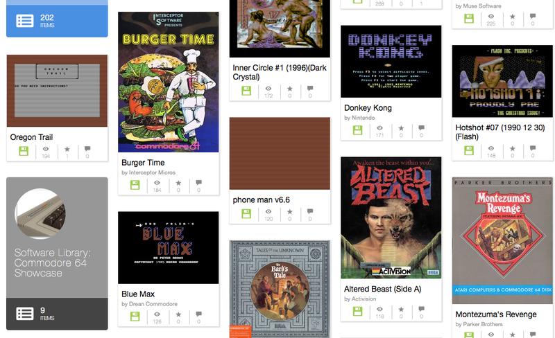 Illustration for article titled Cómo jugar gratis online a Wolfenstein, Altered Beast,Bubble Bobbley miles de otros clásicos del Commodore 64