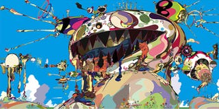 Illustration for article titled Murakami's Freaky, Posthuman Technicolor Visions Coming to New York
