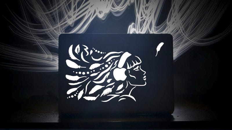Illustration for article titled Laser-Cut MacBook Lids Are More Stunning Than Stickers