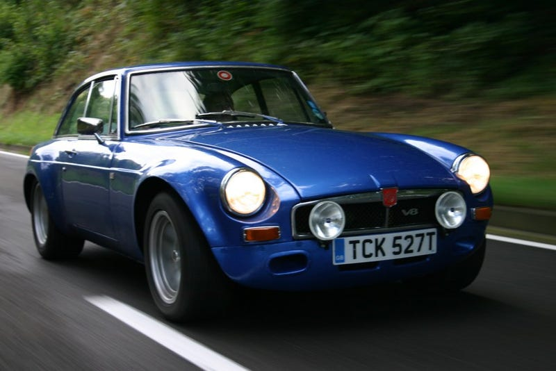 Illustration for article titled The perfect MGB GT V8