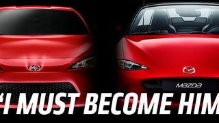 The new 2016 Mazda Miata is so good that Fiat is going to borrow its underpinnings for a new 124 Spider. But what of its chief current rival, the Scion FR-S/Subaru BRZ? That car is due for a replacement eventually, and what will it do then?