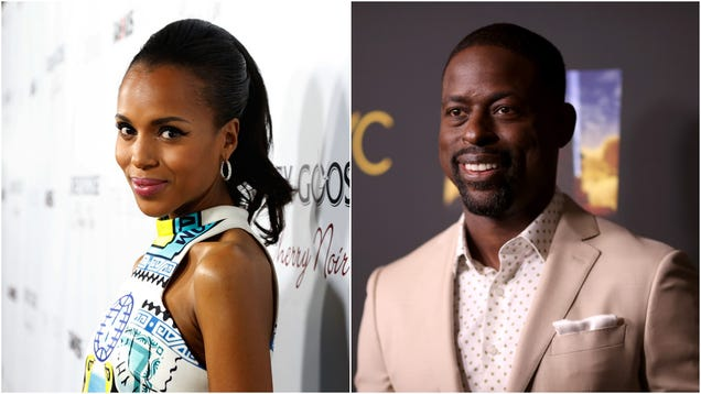 Someone finally figured out that Kerry Washington and Sterling K. Brown should film movies together