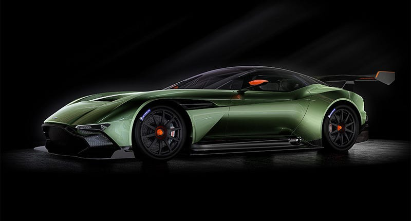 Illustration for article titled Aston Martin Vulcan Is Here