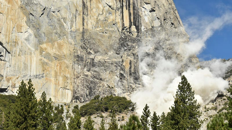 A Bunch Of Rocks Fell Off Yosemite Again