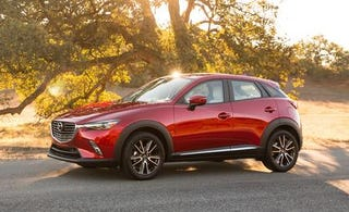 Illustration for article titled I dare you to try to find a better looking crossover than the CX-3