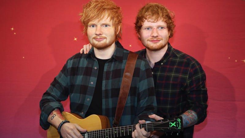 Ed Sheeran y una versión. Imagen: Getty