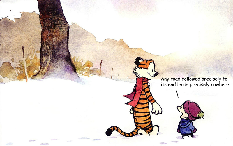 Illustration for article titled Calvin & Hobbes and Dune is a surprisingly great combination