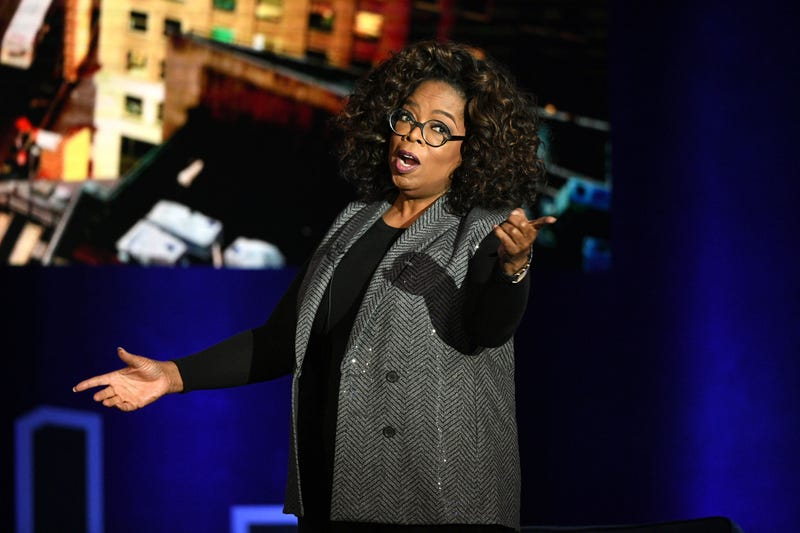 Oprah Winfrey speaks onstage during Oprah's SuperSoul Conversations at PlayStation Theater on Feb. 5, 2019, in New York City.