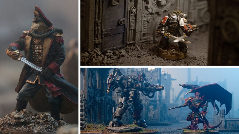 Illustration for article titled Warhammer Miniatures Come to Life in These Amazing Photos