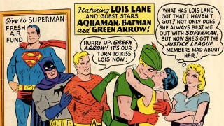 Illustration for article titled More classic comic covers transformed into weirdo GIFs