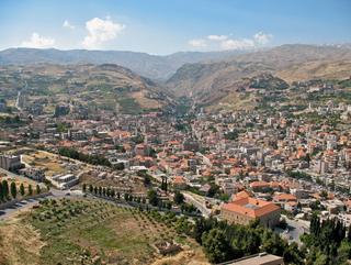 Zahlé, at the southern end of theMount Lebanon Range, eastern LebanonWikimedia Commons