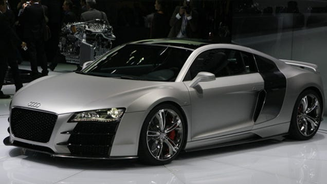 detroit auto show audi r8 v12 tdi live. Black Bedroom Furniture Sets. Home Design Ideas