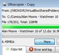 Illustration for article titled UltraCopier Is a Variable-Speed Batch File Copier