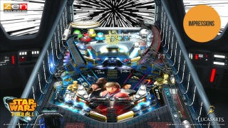 Illustration for article titled This Star Wars Pinball Adaptation is a Tour de Force