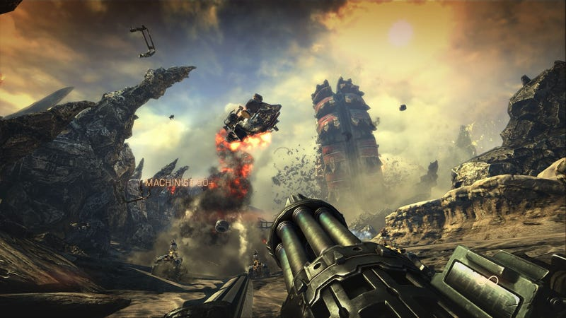 Illustration for article titled Bulletstorm Unleashes Hail Of New Media