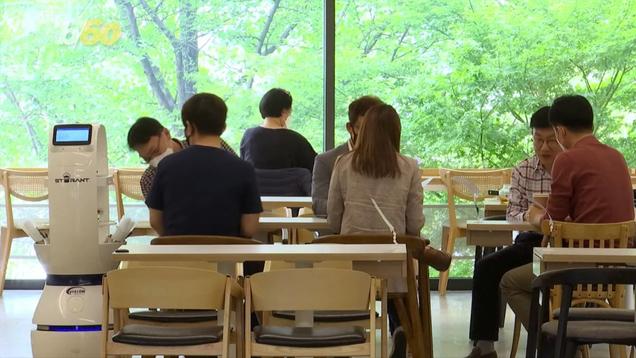 This Robot Barista Helps South Korea s Café-Goers Practice Social Distancing