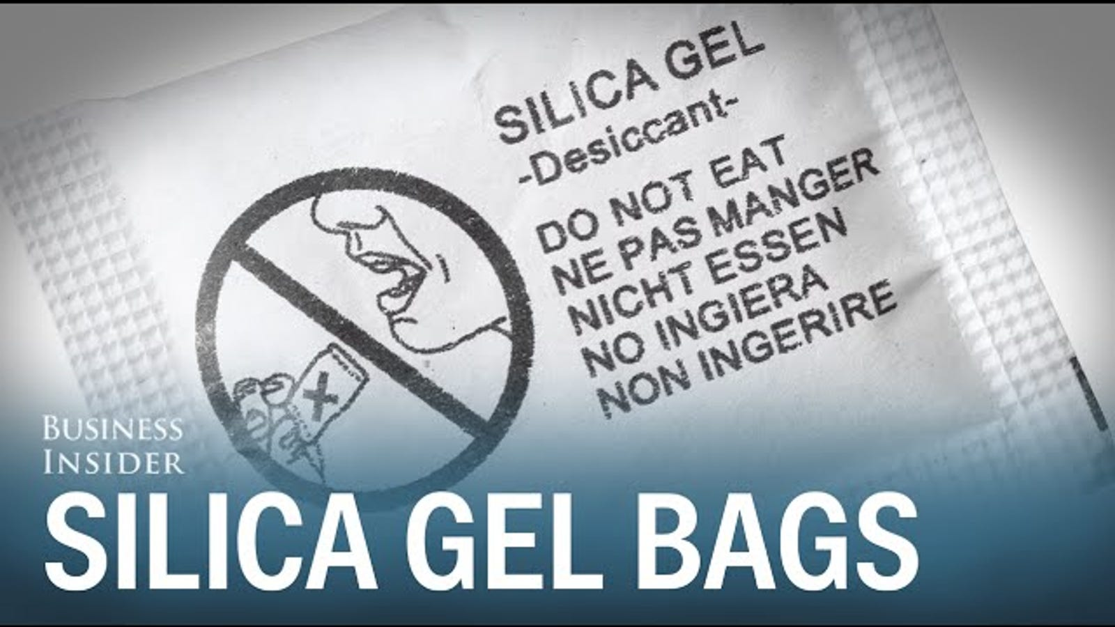 3b2ac68a961b Keep Your Gym Bag Odor-Free With Silica Gel Packets