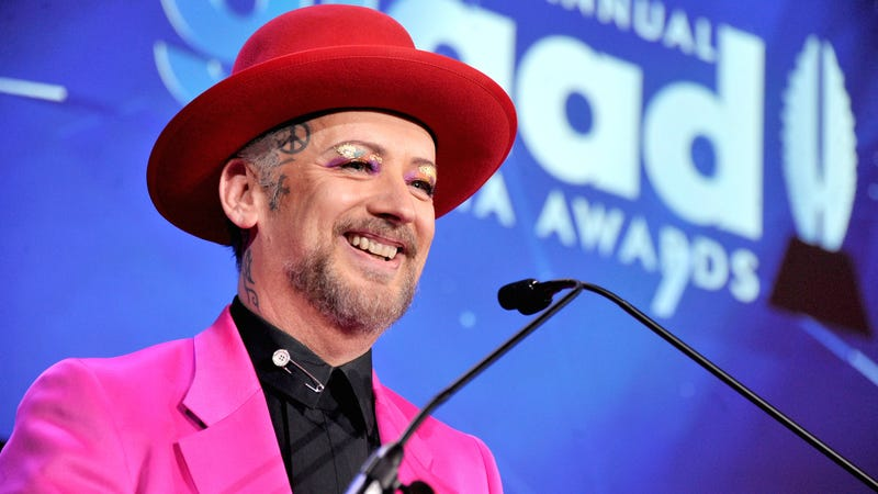 Illustration for article titled Boy George Is a Smokey Voiced Chanteuse