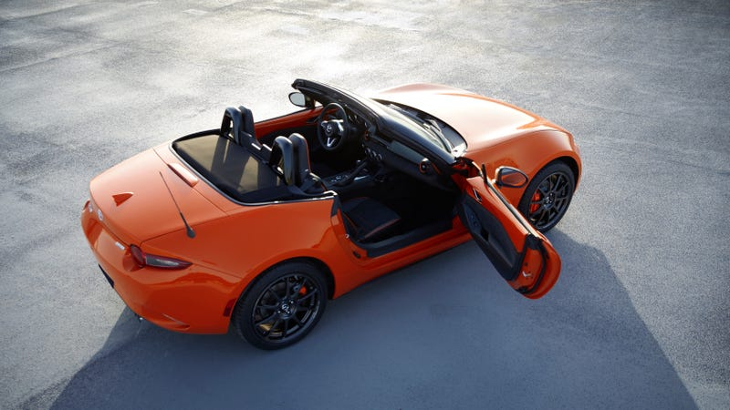 Illustration for article titled The 30th Anniversary MX-5 is Already Sold Out