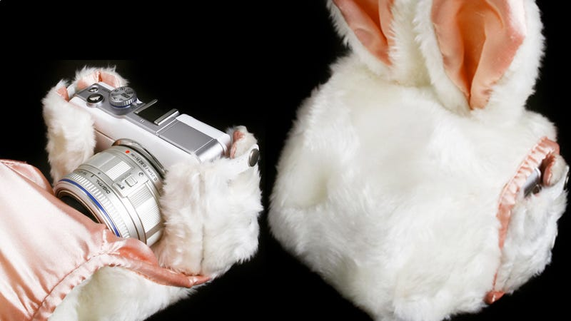 Illustration for article titled Stuff Your Camera Inside the Body of an Easter Bunny