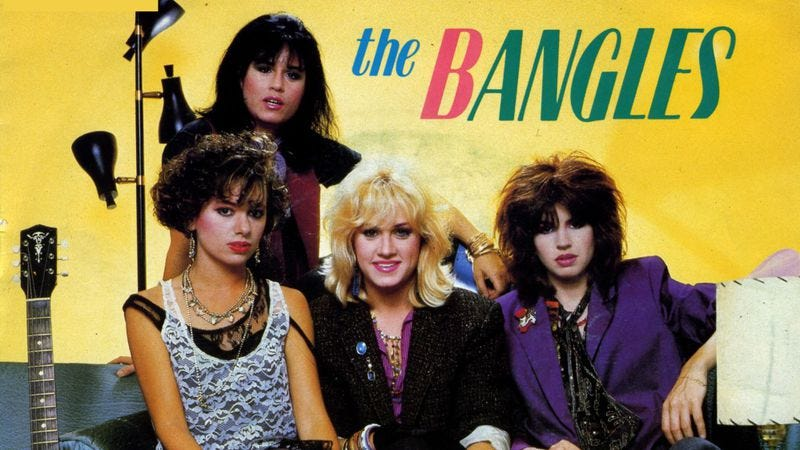 Illustration for article titled An early Bangles cover captures the appeal of indulgent wastefulness