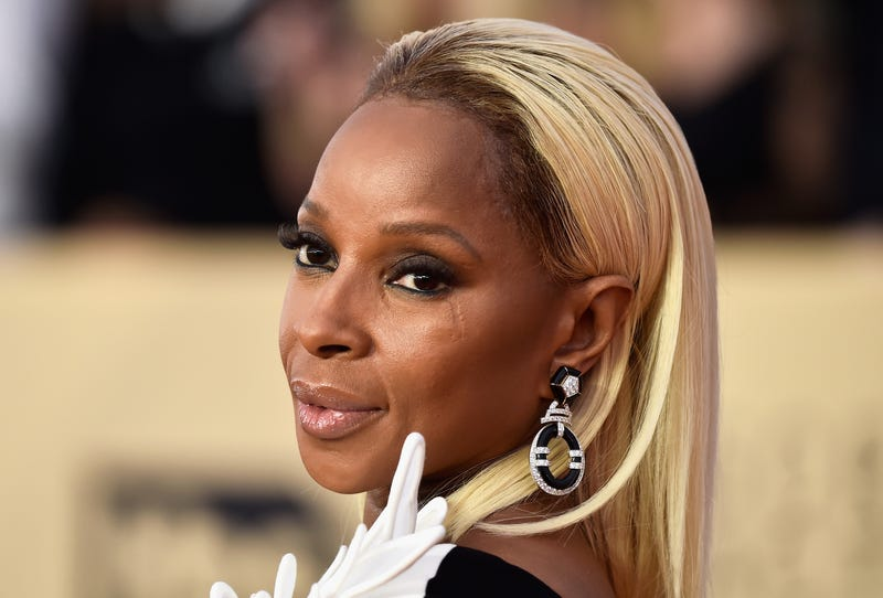 Mary J. Blige attends the 24th annual Screen Actors Guild Awards on Jan. 21, 2018. (Frazer Harrison/Getty Images)