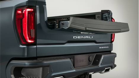 Here S Exactly How The 2019 Gmc Sierra S Six Way Tailgate Works