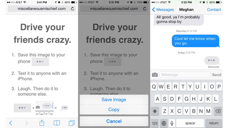This iPhone Prank Tricks People Into Thinking They're