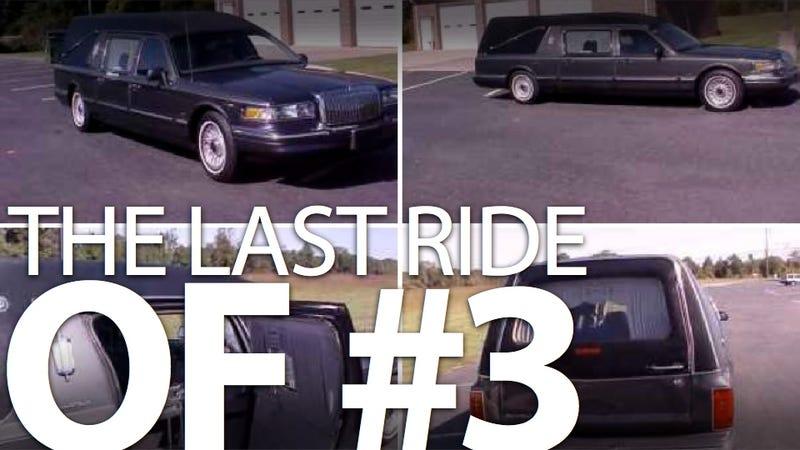 Man regrets selling hearse that carried Dale Earnhardt Sr.