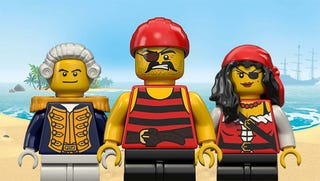 Illustration for article titled Bricks Ahoy! The Best of Classic Pirate LEGO