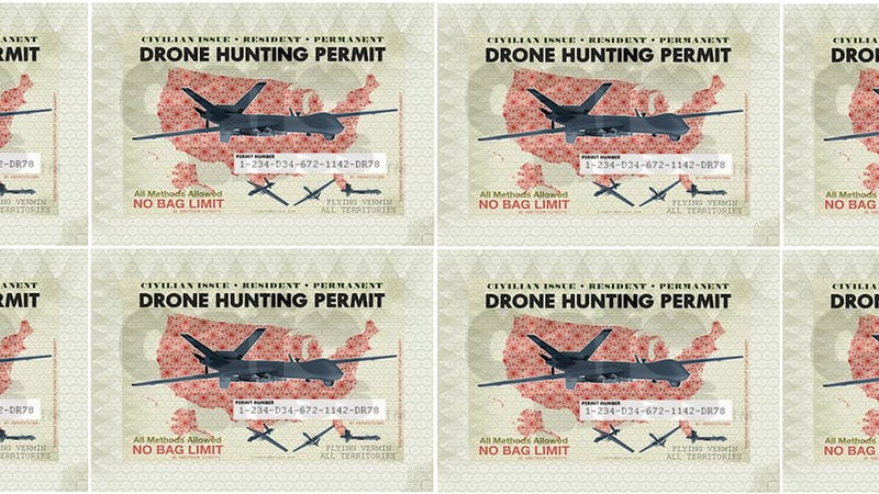 Illustration for article titled Demand for Drone Hunting Licenses Overwhelms Tiny Colorado Town