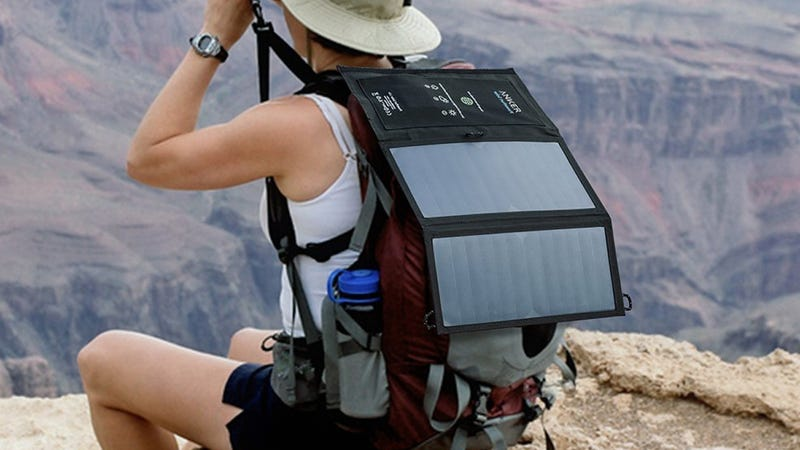 Anker 15W Dual Port Solar Charger, $39