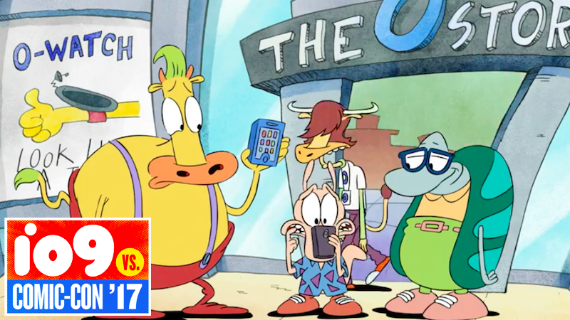 Nickelodeon debuts first look at Rocko's Modern Life movie