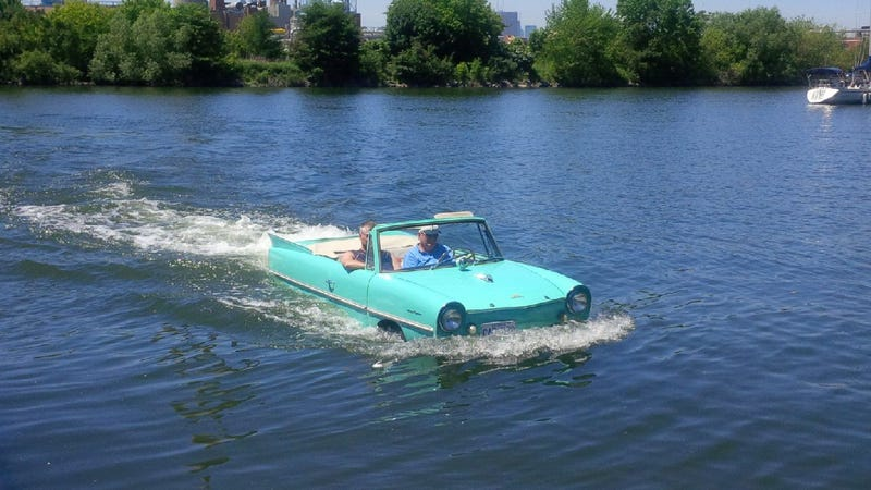 Illustration for article titled The Amphicar shoot is happening!