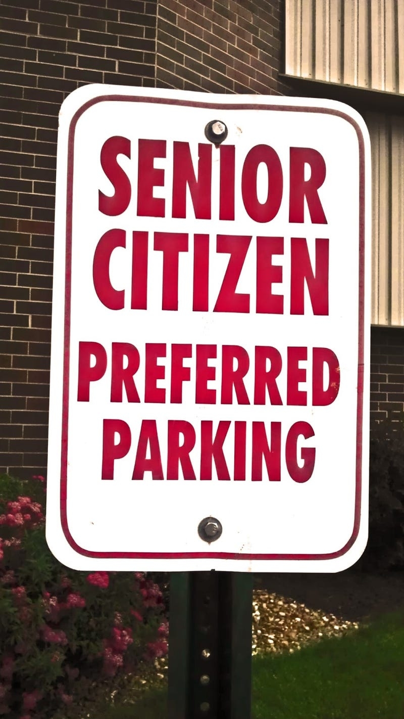 Illustration for article titled Another parking rant: screw you, old people!